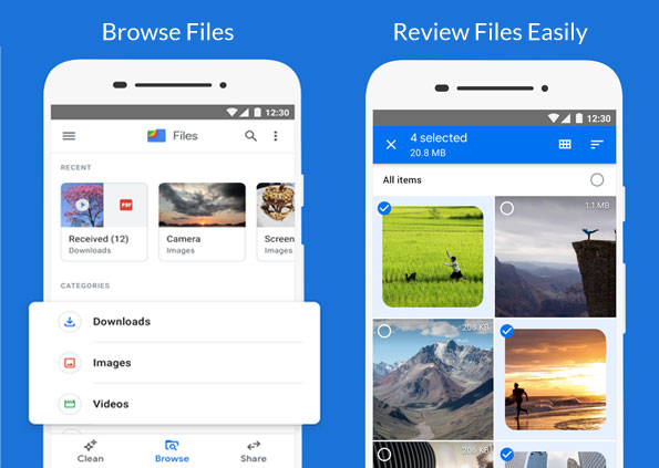 Google Files Android File Manager App