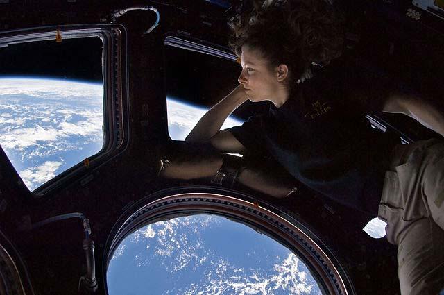Tracy Caldwell Dyson Cupola Module ISS NASA