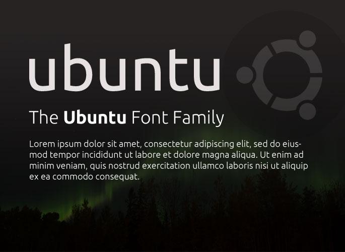 Ubuntu font from Google