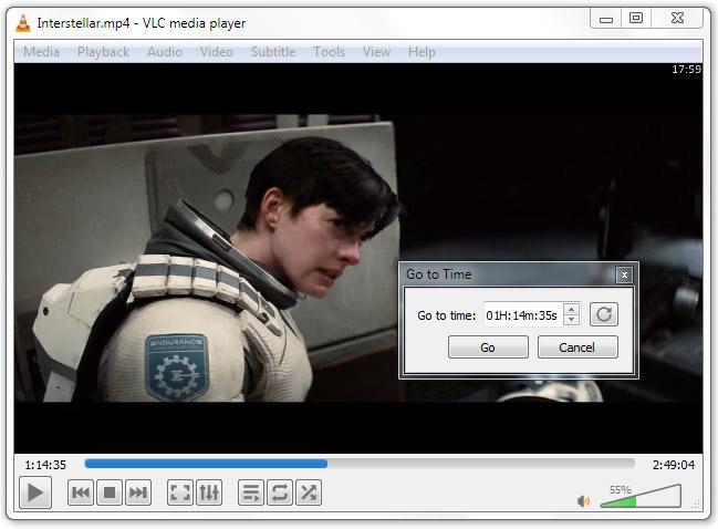 VLC Media Player Shortcuts playback