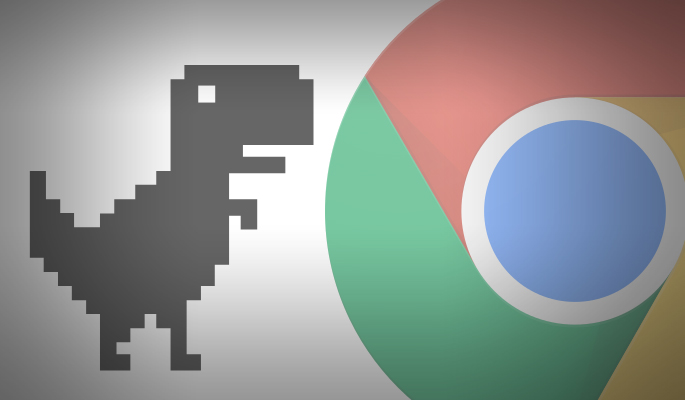 How to play Chrome's Dinosaur Game with the Internet Connected