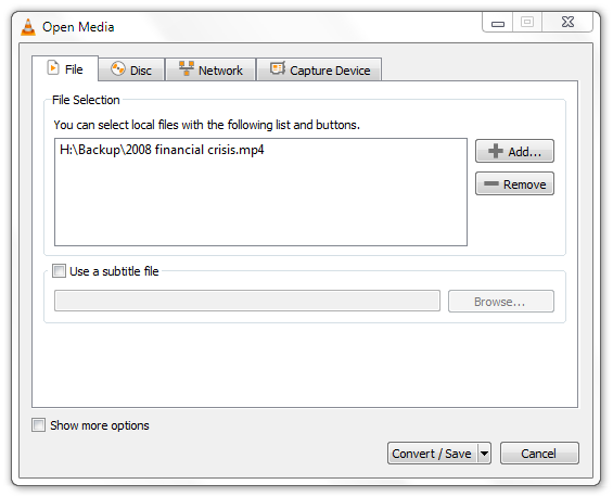 How to Extract audio MP3 from Video Files using VLC Player