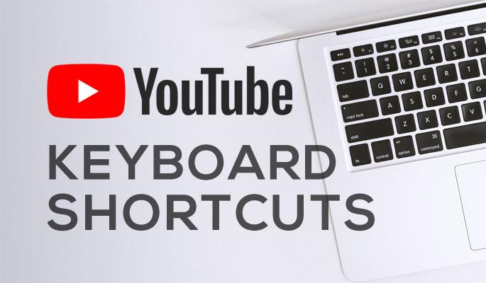 Complete List of YouTube Keyboard Shortcut Keys