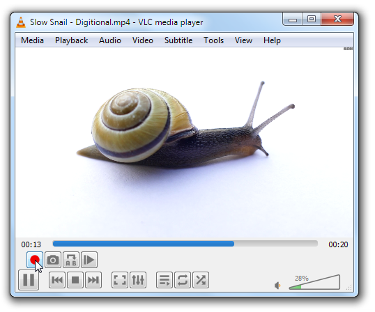 How to cut portions of a Video in VLC player