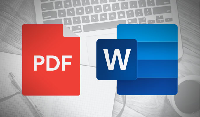 Convert PDF to MS Word File using Google Docs