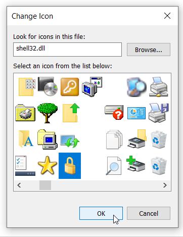 Change Icon Desktop Shortcut Windows 10