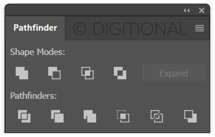 Adobe Illustrator Pathfinder Tools