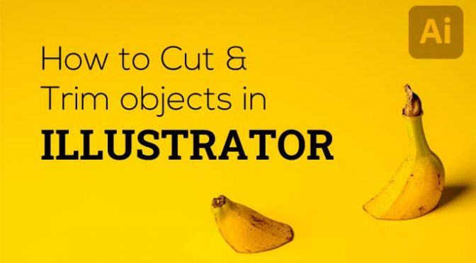 How to Cut and Trim Objects in Illustrator using Pathfinder