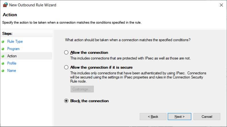 Cách Chặn Phần Mềm Kết Nối Internet Trong Ứng Dụng Windows 10 - VERA STAR