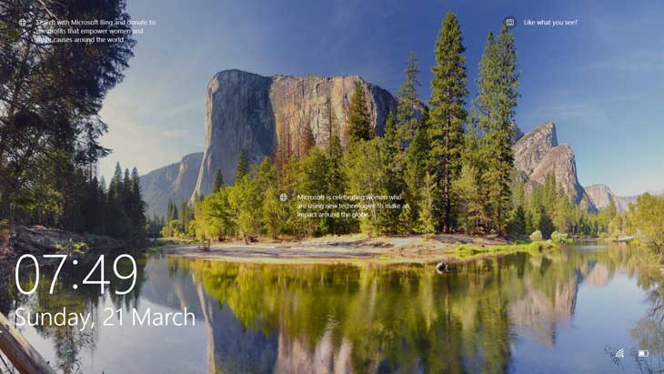 Save Lock Screen Wallpapers in Windows 10