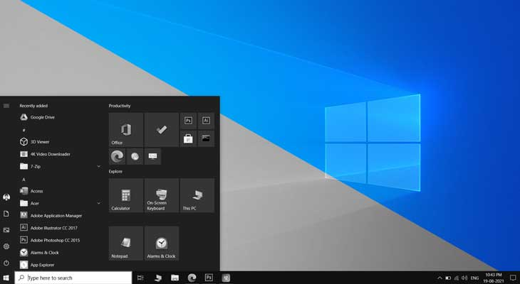 How to Activate Grayscale or Invert Color mode in Windows 10