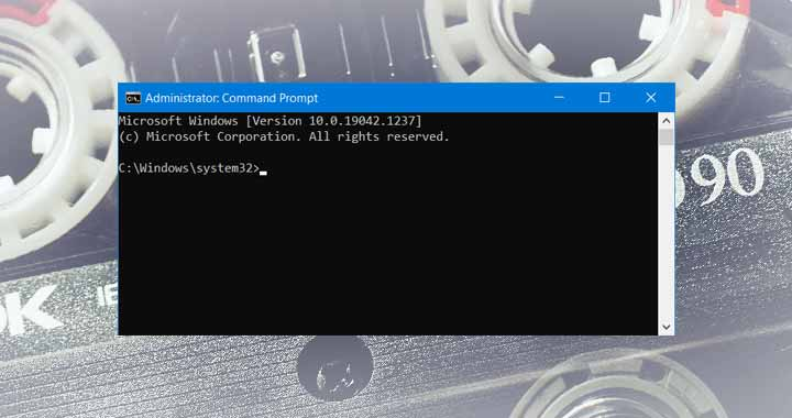 How to Join multiple MP3 files using Command Prompt in Windows
