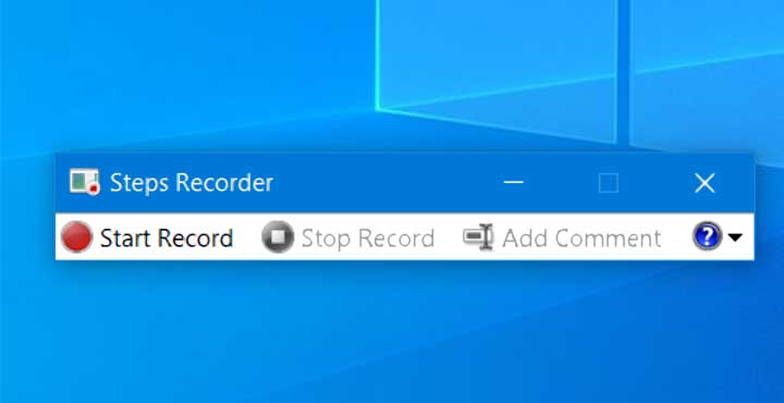 How to take Automatic Screenshots with Steps Recorder in Windows 10